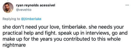Twitter Justin Timberlake