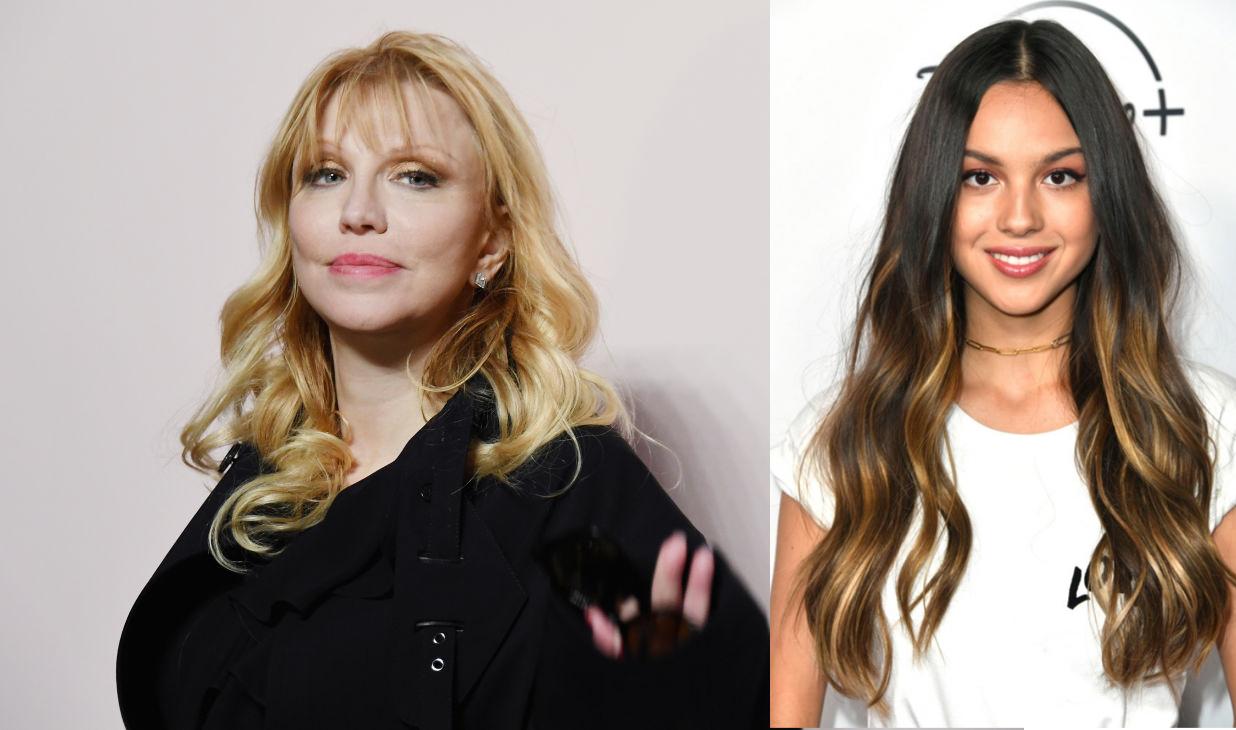 Courtney Love Demands Olivia Rodrigo To Send Her Flowers After Calling Her Rude Over Copying Hole's 1994 Album Art