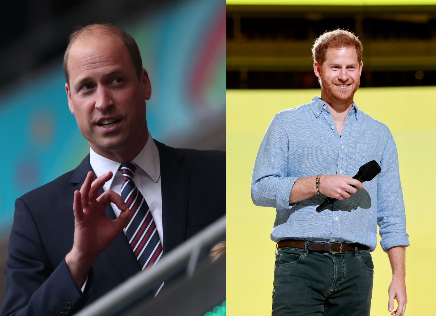 Prince Harry and Prince William Reunited? Princess Diana's Sons Cheers Over England Football Teams's Stunning 2-0 Win