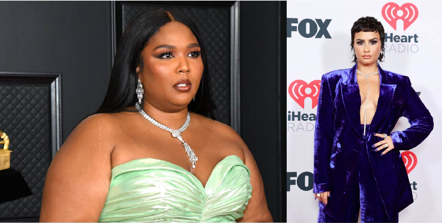 Lizzo Gets Up On Paparazzi After Misgendering and Offending Demi Lovato [FULL STORY]