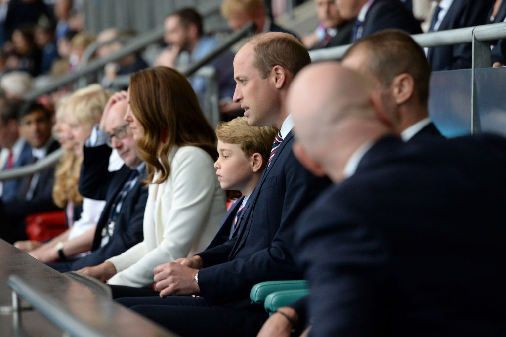 Prince George In Euro2020 Finals, Gets Loved By Many For Doing This Cute Reaction For A Goal [VIDEO]