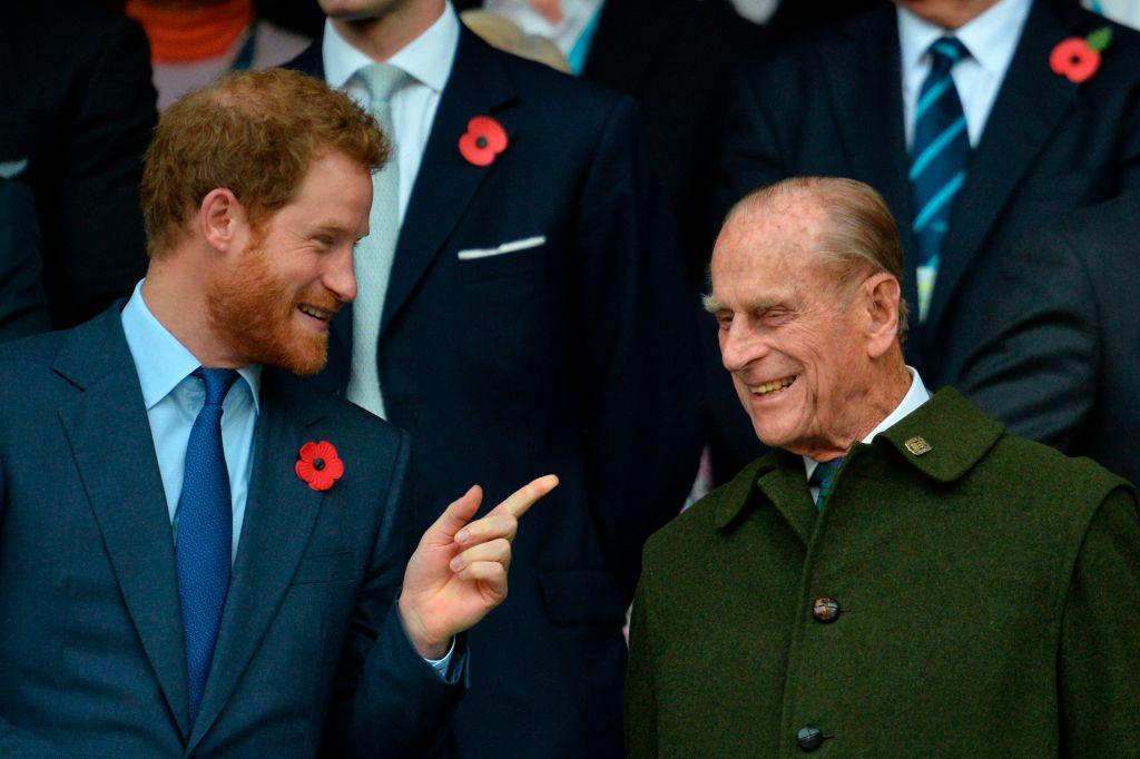 Prince Philip, Prince Harry