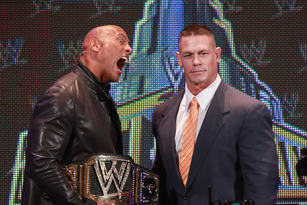 Dwayne Johnson, John Cena