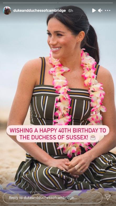 Meghan markle birthday