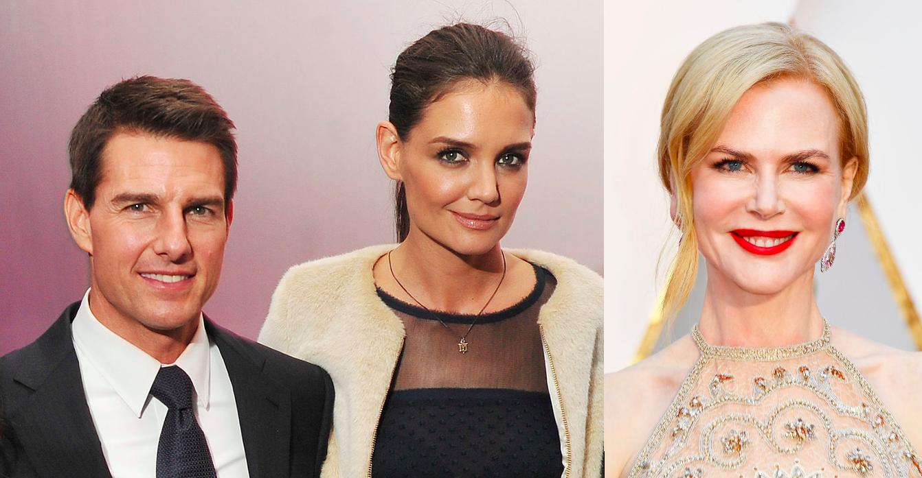 Tom Cruise, Katie holmes, Nicole Kidman