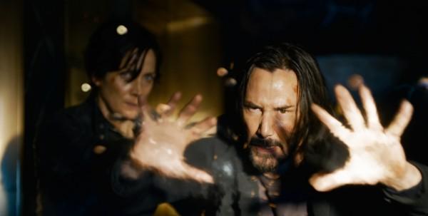Keanu Reeves In Martrix Resurrection