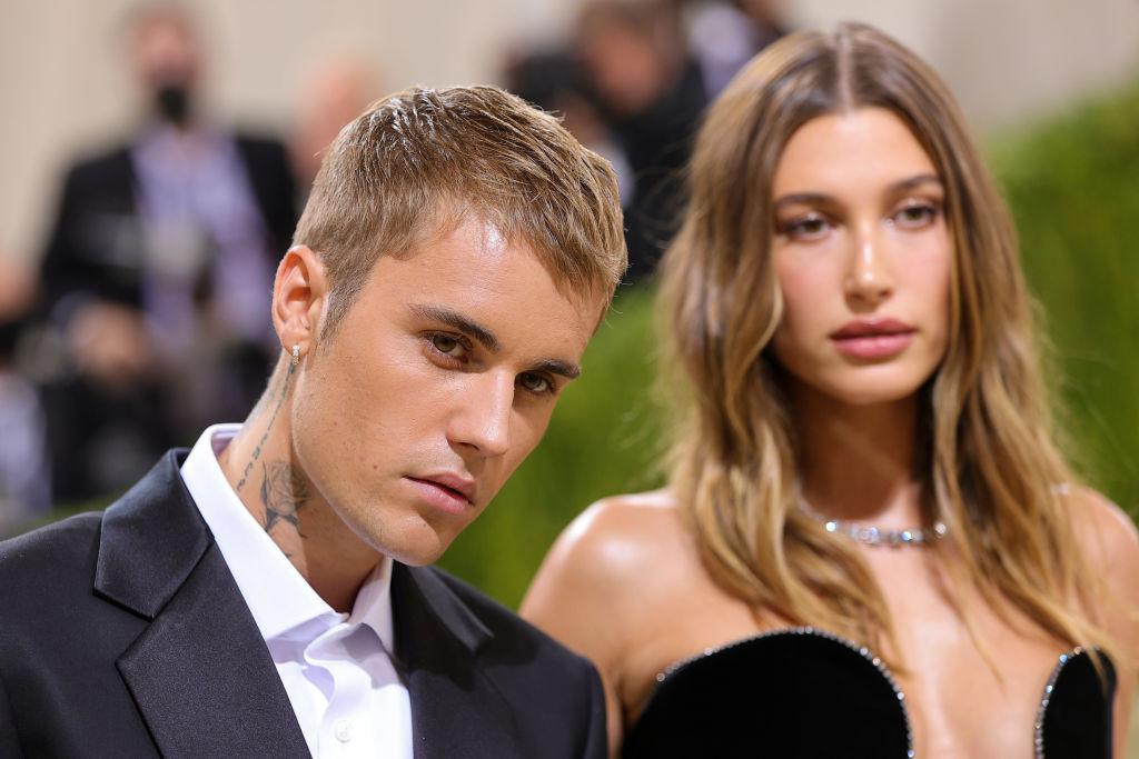 Justin Bieber, Hailey Baldwin MET GALA 2021