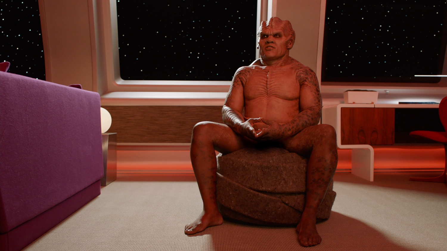 Peter Macon in the Command Performance episode of THE ORVILLE