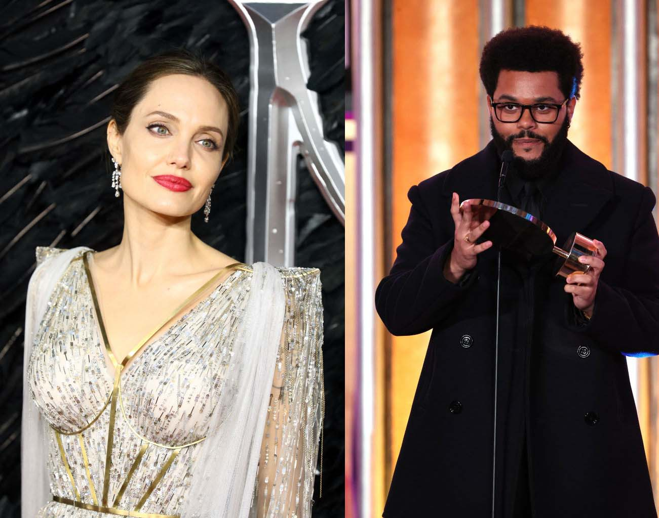 Are Angelina Jolie and The Weeknd Really Dating? Couple Was Caught Sharing a Car Home After Romantic Italian Dinner [REPORT]