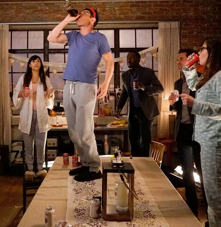 insiders from sitcoms only true fans would know new girl true american