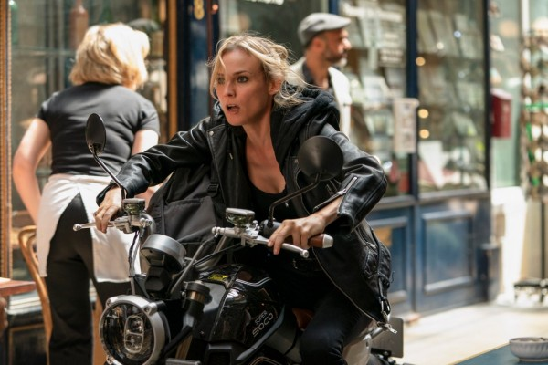 Diane Kruger as Marie in The 355, co-written and directed by Simon Kinberg