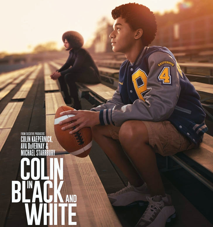 Colin in Black and White poster