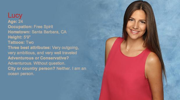 The Bachelor 2014, Season 18 Contestant