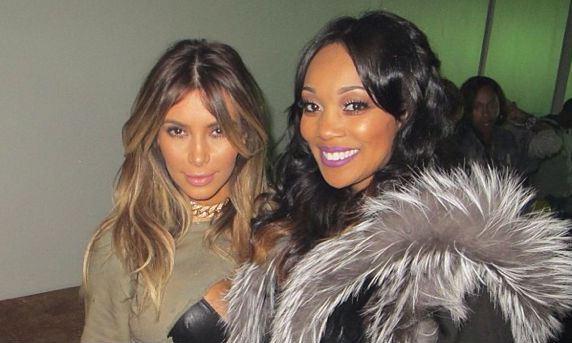 Kim Kardashian & Monica Brown