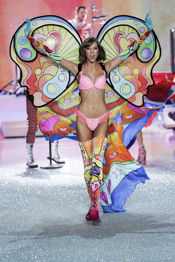 Karlie Kloss at the 2013 Victoria's Secret Fashion Show