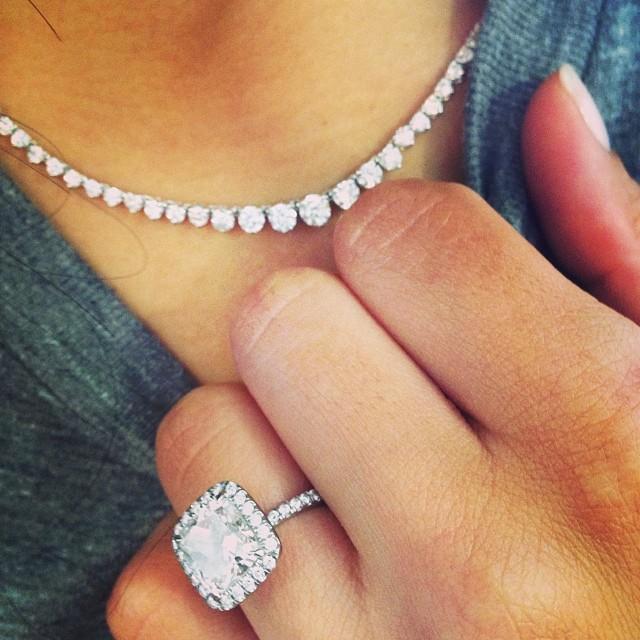 Naya Rivera Engagement Ring