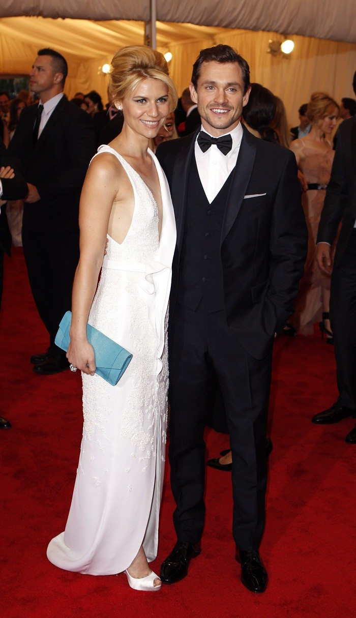 Claire Danes and her husband Hugh Dancy,