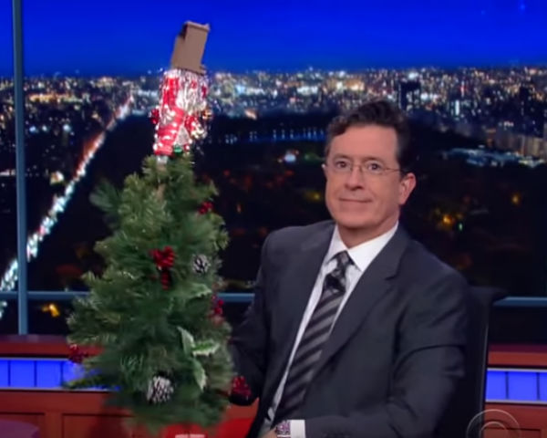 Stephen Colbert shares his solution to the Starbucks Red Cup controversy