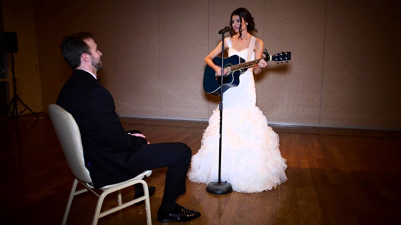 Bride Had The Sweetest Surprise For Husband
