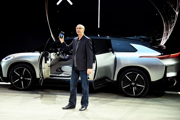 Tesla Model S Rival The Faraday Future Ff91 Arrives In Style And